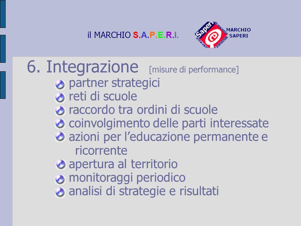 6. Integrazione [misure di performance]